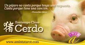 Cerdo del Horoscopo Chino - Animales del Zodiaco Chino