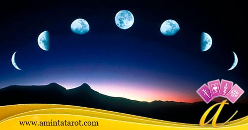 Etapas de la Luna - Astrología - TarotGratis.club