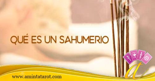 Qué es un Sahumerio