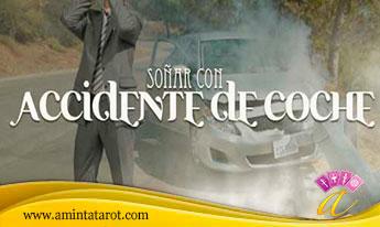 Soñar con accidente de coche