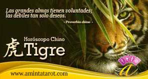 Tigre del Horóscopo Chino - Animales del Zodiaco Chino