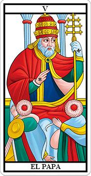 arcano el Papa o Sumo Sacerdote