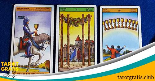 Tirada de tres cartas de tarot - tarot gratis club