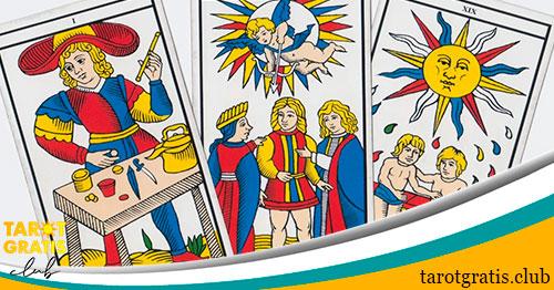 Tirada de tres cartas del tarot - tarot gratis club