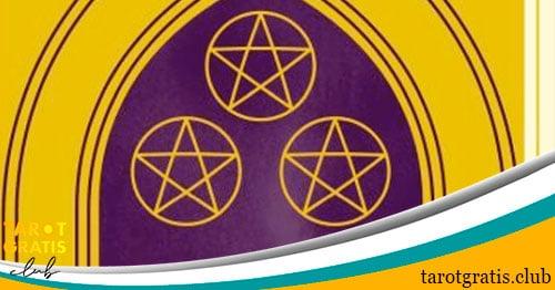 Tres de Oros - tarot gratis club