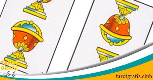 dos de copas - tarot gratis club