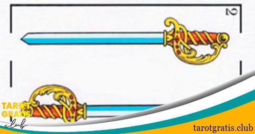 dos de espadas - tarot gratis club