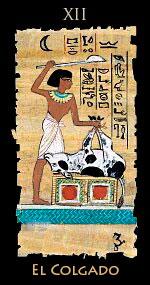 ahorcado - Tarot Egipcio