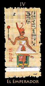 faraon - Tarot Egipcio