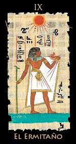 ermitaño - Tarot Egipcio