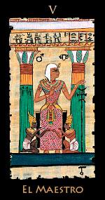 maestro - Tarot Egipcio