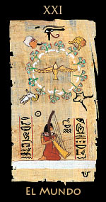 mundo - Tarot Egipcio