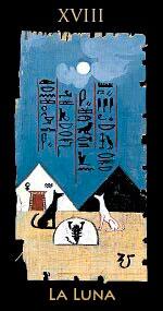 luna - Tarot Egipcio