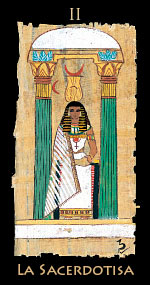 papisa - Tarot Egipcio