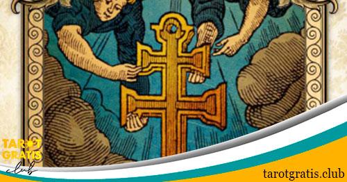 oración con la Cruz de Caravaca como proteccion