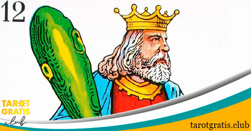 rey de bastos - tarot gratis club