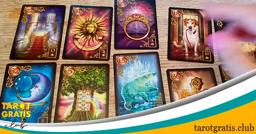 cartas del tarot gitano - tarot gratis club