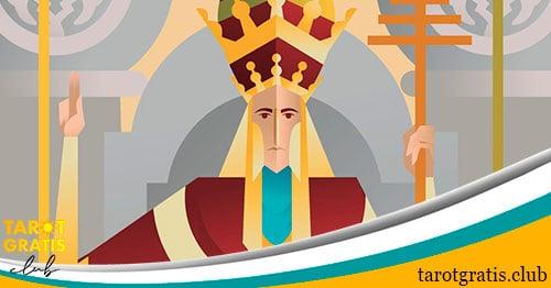 el Sumo sacerdote - tarot gratis club