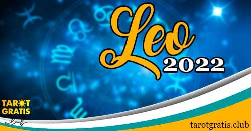 horóscopo Leo de 2022 - tarot gratis club