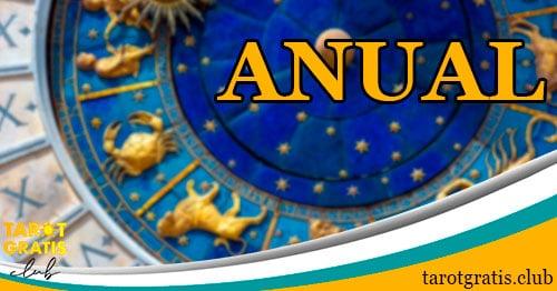 horóscopo anual - tarot gratis club