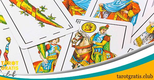 las cartas de la baraja española