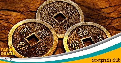 las monedas del I Ching - tarot gratis club