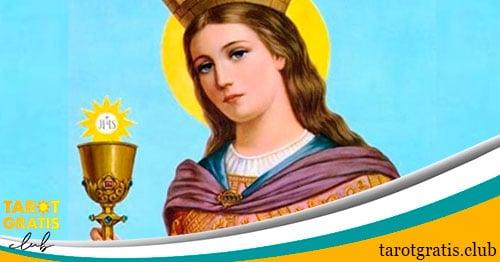 oración a santa Bárbara - oraciones milagrosas