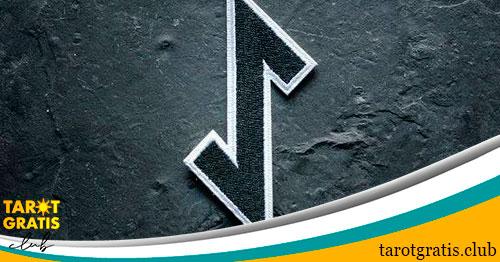 runa eiwaz - alfabeto runico - tarot gratis club