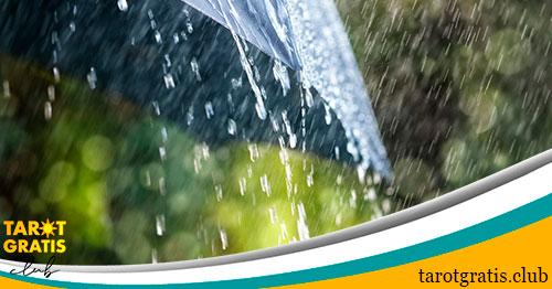 soñar con lluvia o un paraguas - tarot gratis club