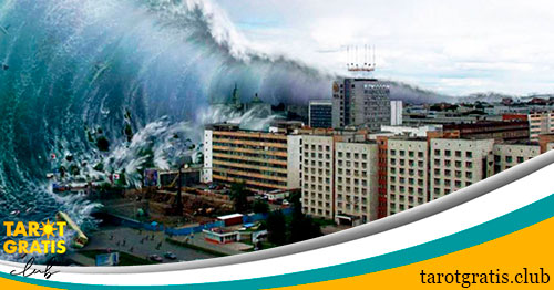 Soñar con Olas Gigantes o Tsunami