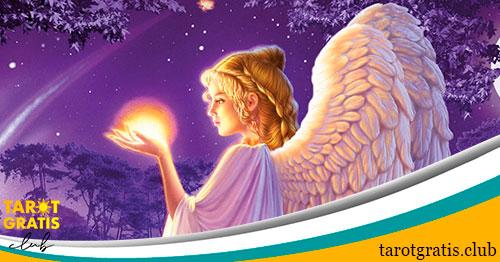 Tirada celta de los ángeles del amor