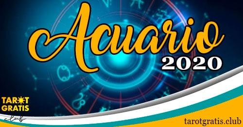 Horóscopo Acuario de 2020 - tarot gratis club