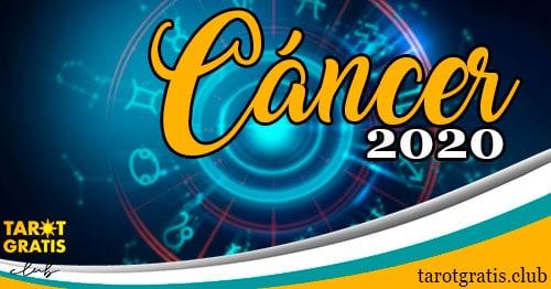 Horóscopo Cáncer de 2020 - tarot gratis club