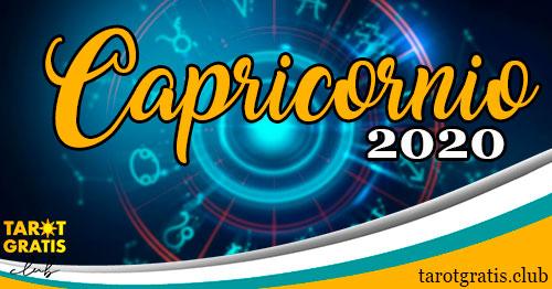 Horóscopo Capricornio de 2020 - tarot gratis club