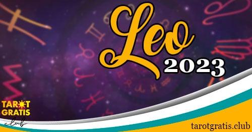 Horóscopo Leo de 2023 - tarot gratis club