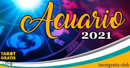 horoscopo Acuario de 2021 - tarot gratis club