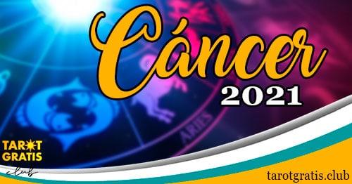 horóscopo Cáncer de 2021 - tarot gratis club