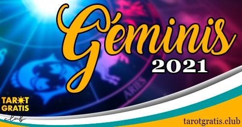 horoscopo Géminis de 2021 - tarot gratis club
