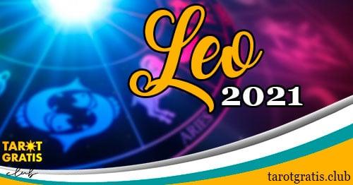 horóscopo Leo de 2021 - tarot gratis club